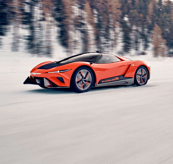 GFG Style shows Kangaroo at Geneva Motor Show